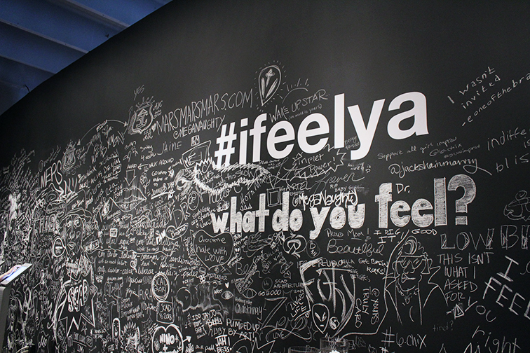 #ifeelya exhibit in Wynwood by Andre 3000