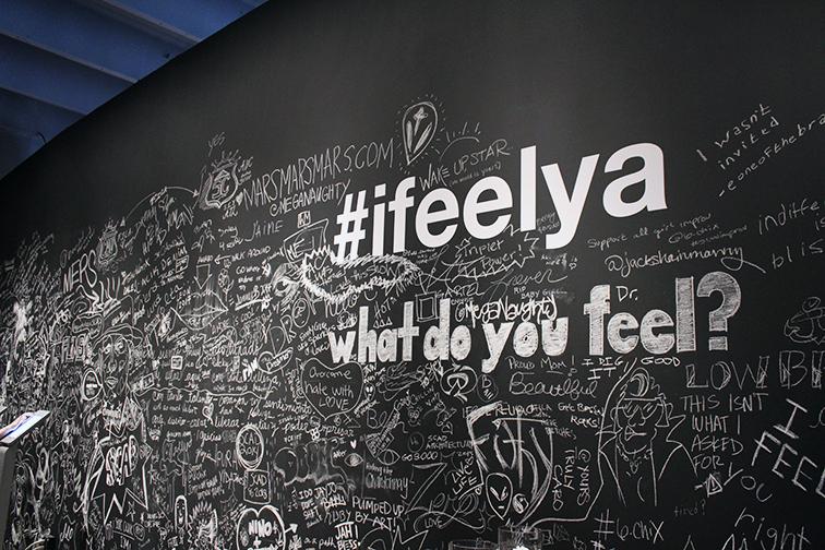 #ifeelya exhibit in Wynwood by Andre 3000