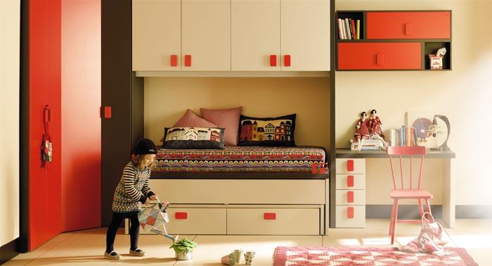 Como decorar un dormitorio juvenil for Mueble puente juvenil