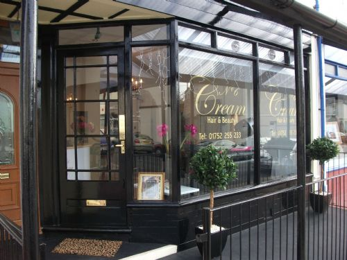 Today I went to Cream Hair & Beauty in Plymouth, where my gorgeous