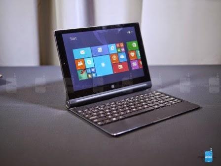 Lenovo rilis tablet Yoga 2 dan Yoga 2 Pro dengan proyektor