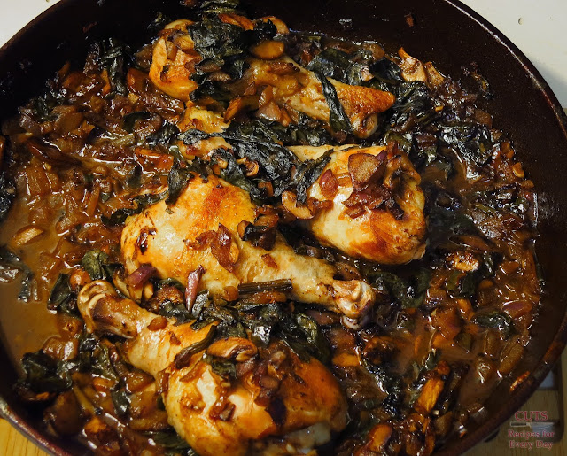 Balsamic, braising, cast iron, chicken, braise, braised