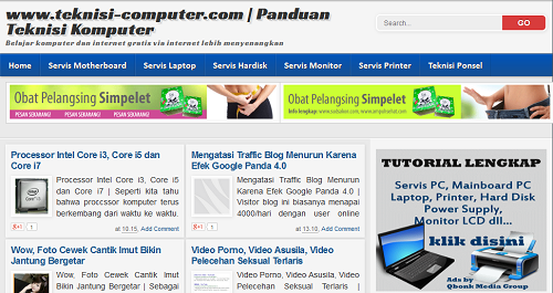 templet seo friendly terbaru
