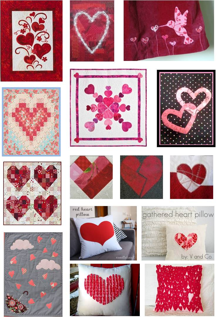 Free Quilt Patterns With Hearts : Quilt Inspiration: Free Pattern Day: Hearts and Valentines Part 2