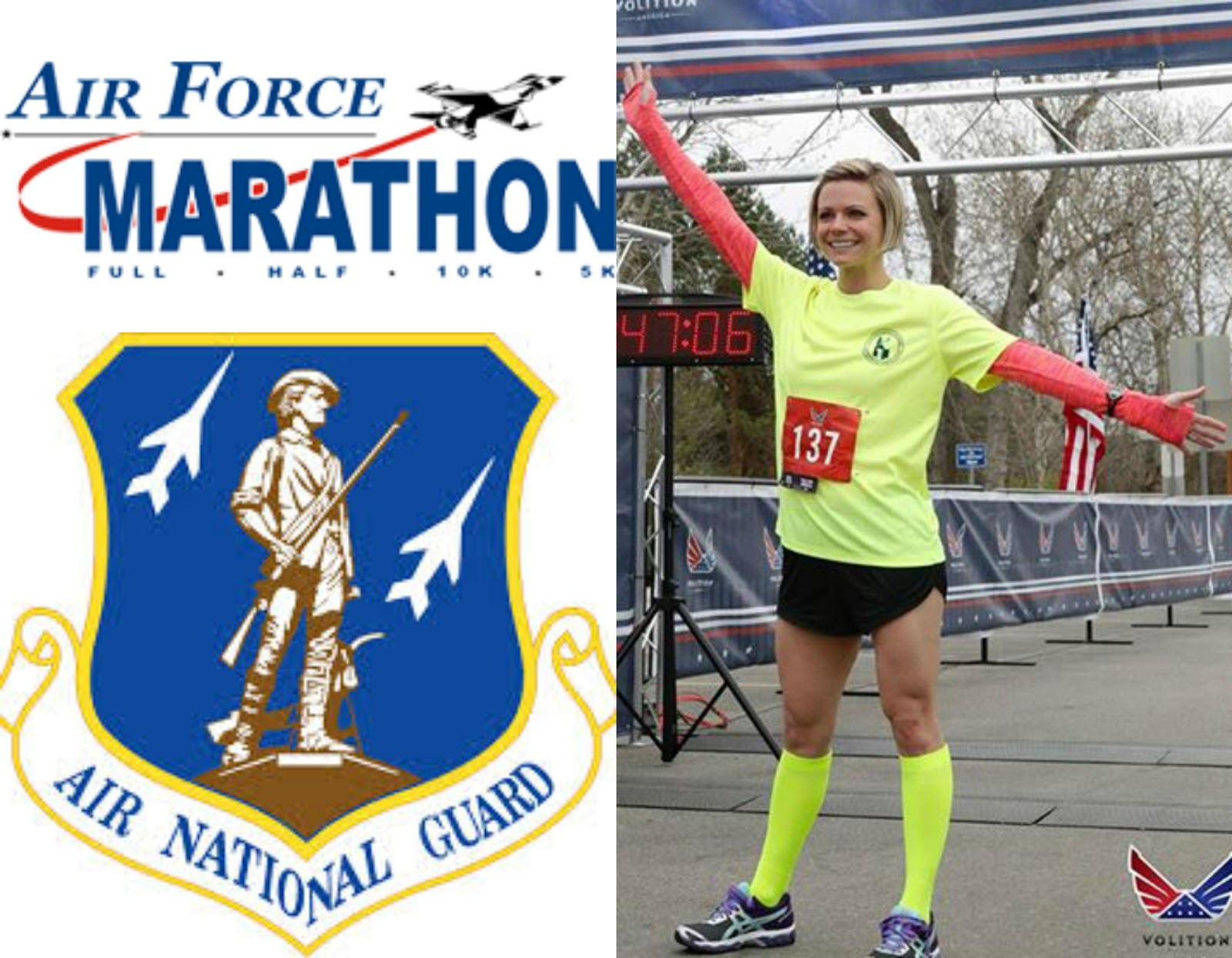 Air Force Half Marathon, Air Force MAJCOM Challenge, Idaho Air National Guard Runner, 124 Fighter Wing