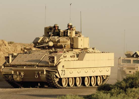M2 Bradley US Armored Fighting Vehicle
