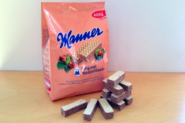 Manner Neapolitaner vegan wafers