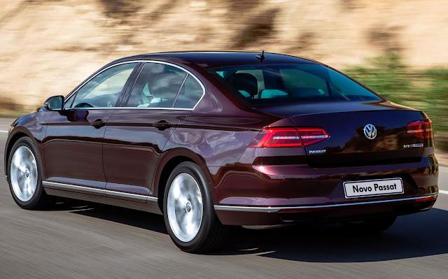 Novo VW Passat 2016 - Preço