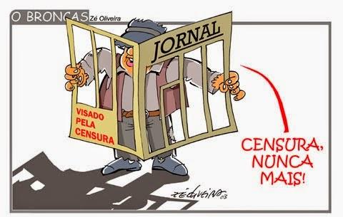 Resultado de imagem para censura charges