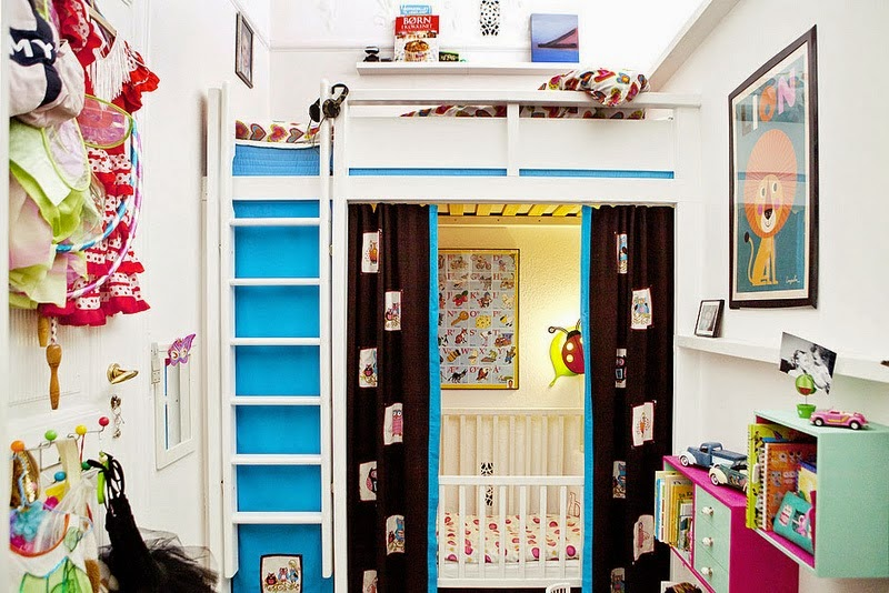 Bunk Beds For A Small Room the boo and the boy: small room inspiration with bunk beds