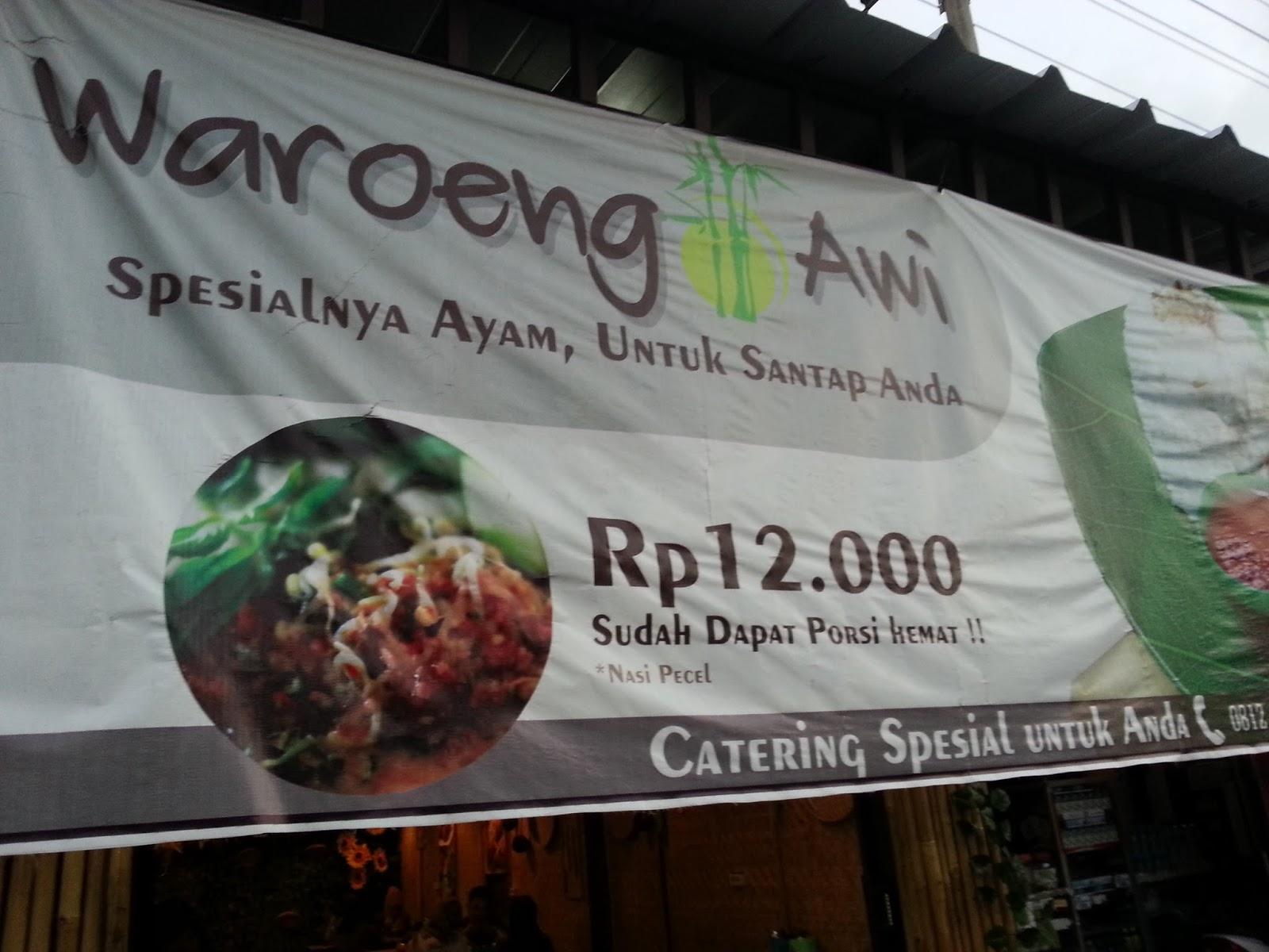 The Beginner: Kuliner Majalengka ~ Waroeng Awi