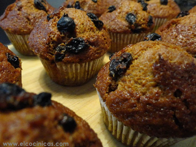 Muffins de Pedro Ximénez