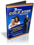 3 Step Cold Sore Remedy