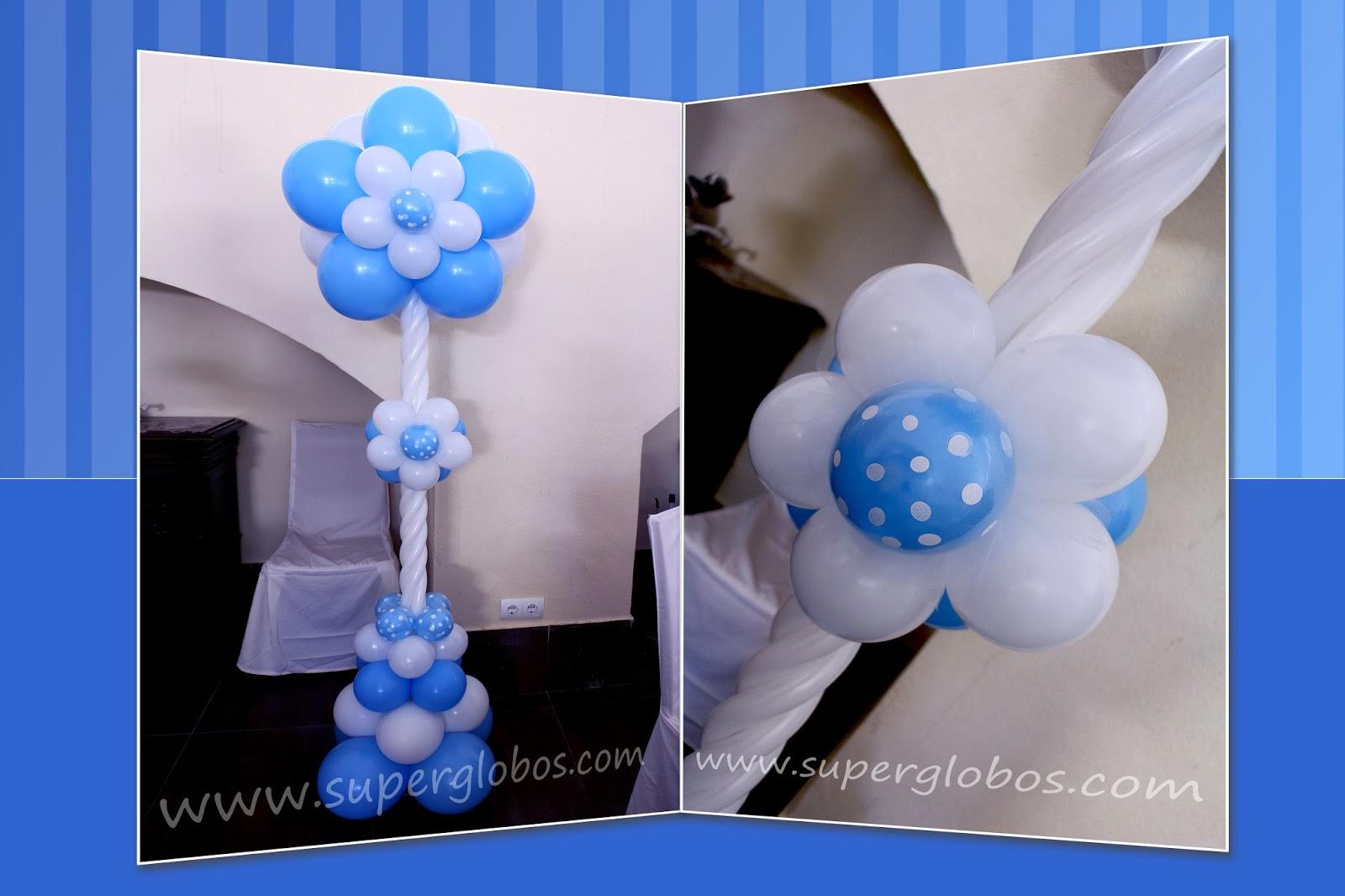 Las mejores decoraciones con globos para ese d a tan - Como decorar una columna en el salon ...