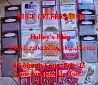 Holley's 5th Anniversary Blog Candy