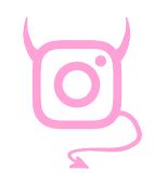 Diabeł na Instagramie