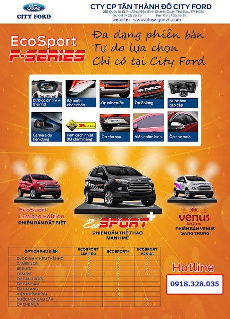 Ford%2Becosport %2BSeries 03 Ford Ecosport Titanium Limited phiên bản đặc biệt