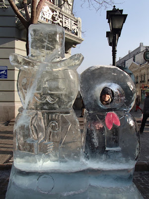 Zhongyang Street Ice Sculptures