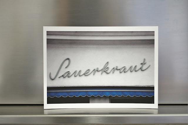sauerkraut sign vienna wien dinners with friends blog