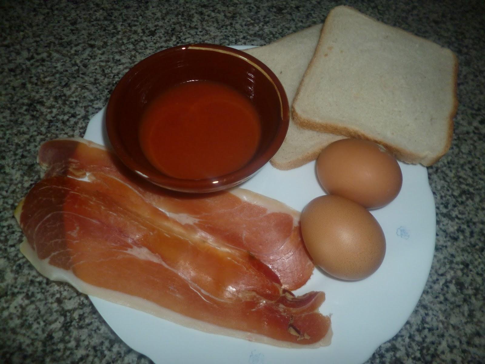 Cocina y reposteria con arkaitz y leire tostada de jam n for Cocina y reposteria