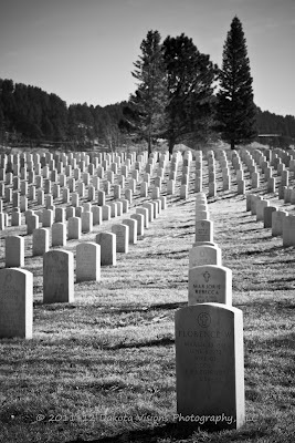 Fallen but not Forgotten Black Hills National Cemetery Sturgis SD by Dakota Visions Photography LLC