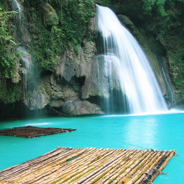 Places In The United States To See Before You Die: Kawasan Falls, Philippines
