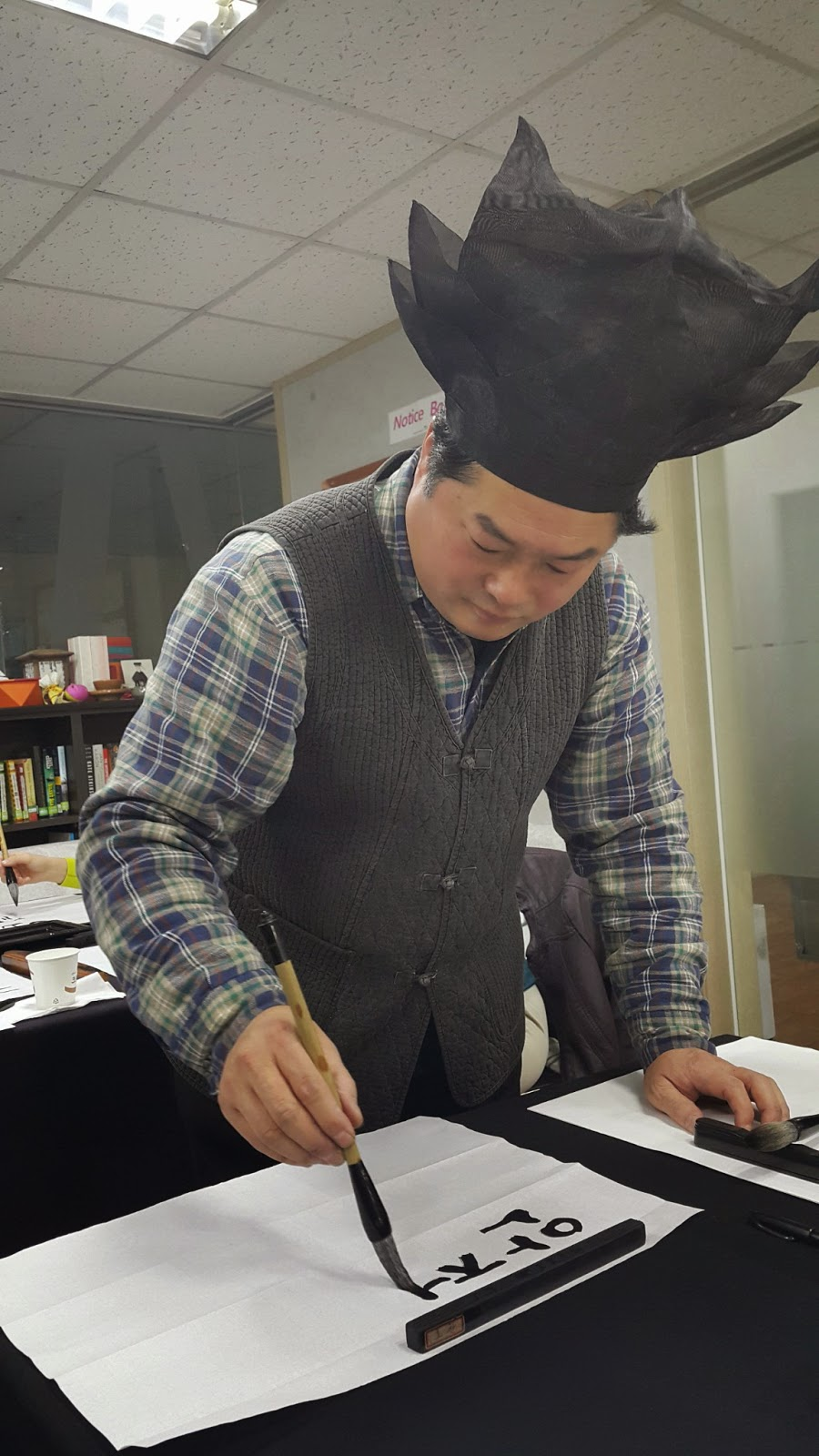 Korean calligraphy done by the expert