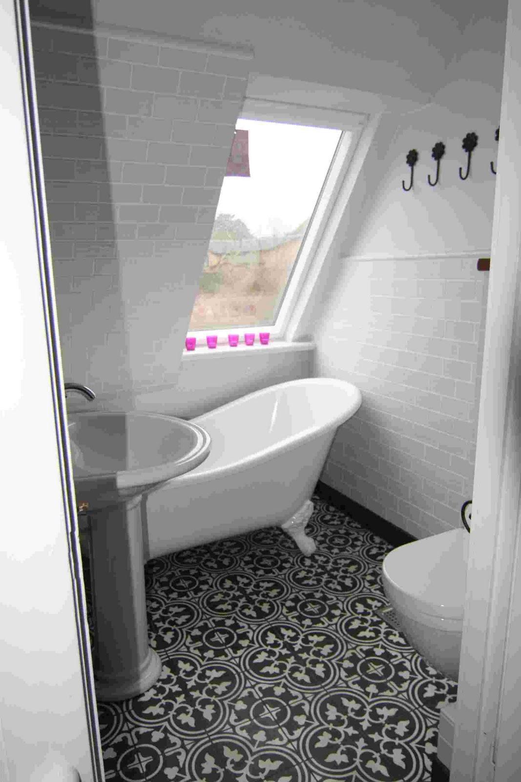 Fleas at home: badeværelset