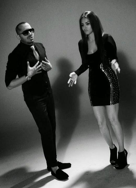Ali Quli Mirza with Sunny Leone