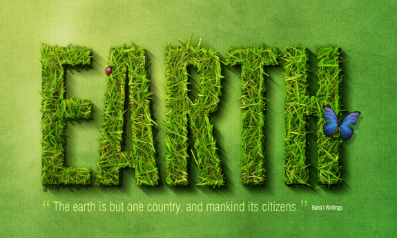 earth 3D Text Photoshop 30 Striking 3D Text in Photoshop Tutorials