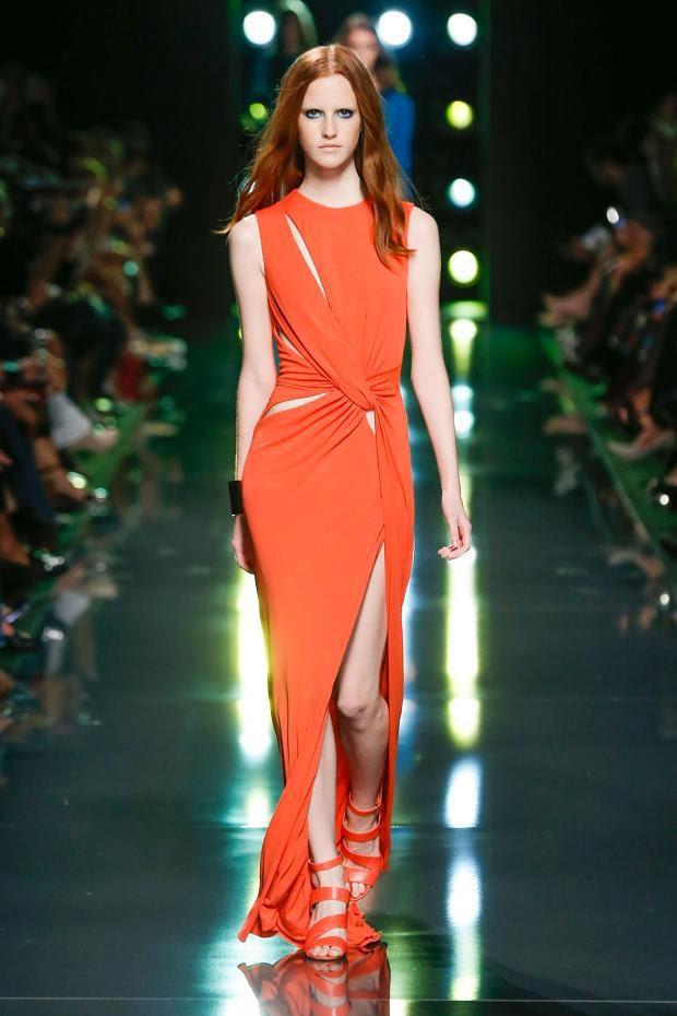 Color naranja Tendencias moda primavera verano
