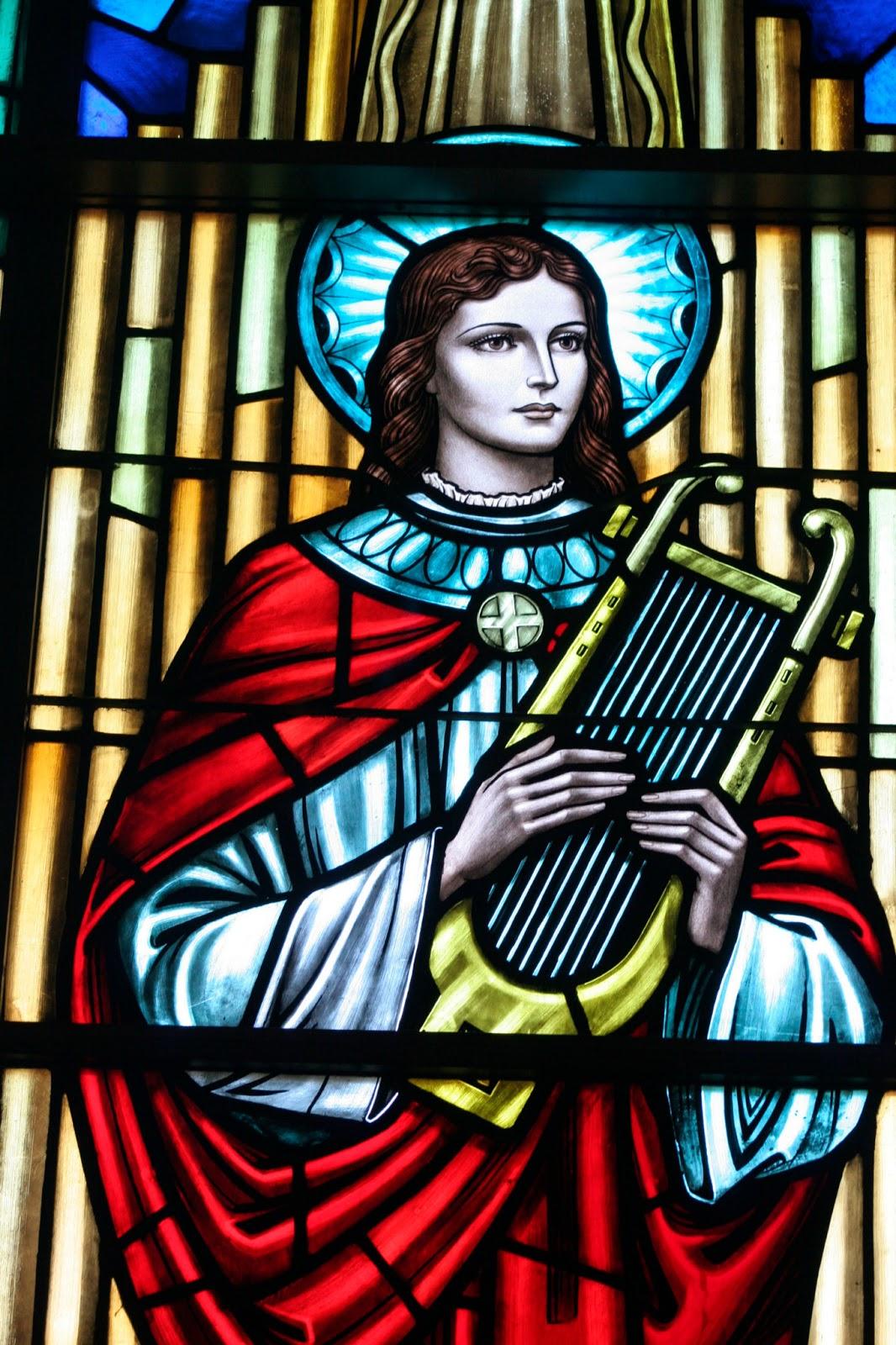 Saints: Saint Cecilia