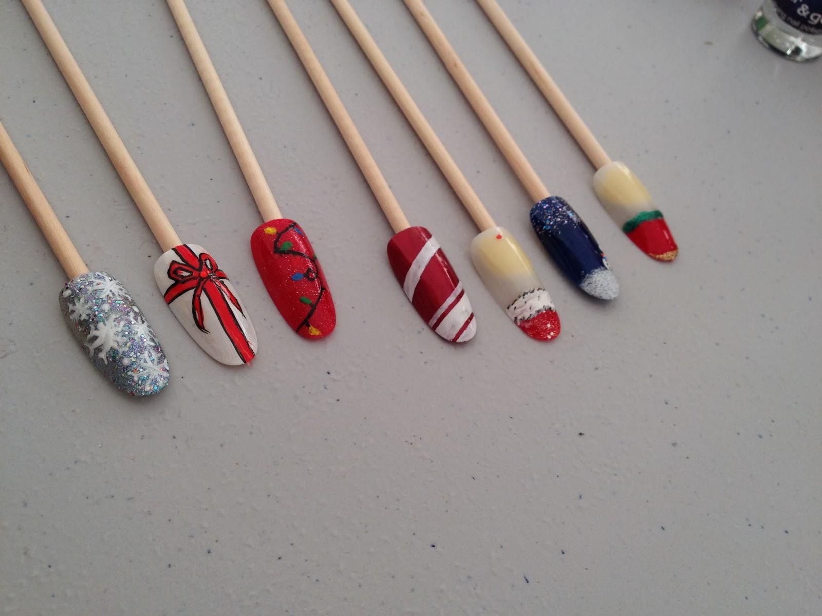 Ateliers nail art Décembre et Janvier17