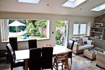 fully retractable windows with integral blinds