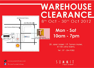 Summit Shoes Warehouse Clearance Sale Extended 2012
