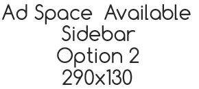 Ad Space Option 2