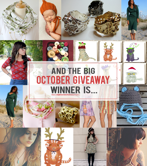 The Bubby and Bean Big October Giveaway Winner