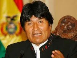 EL PRESIDENTE INDIGENA BOLIVIANO..EVO MORALES