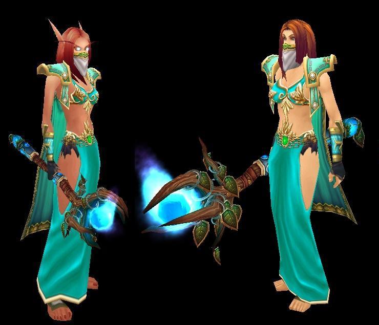 Info from Nightwill the Altaholic: Transmog, Baby Blue Delight