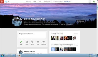 Tampilan Baru Google Plus