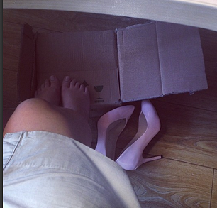 ofiste ayakkabı