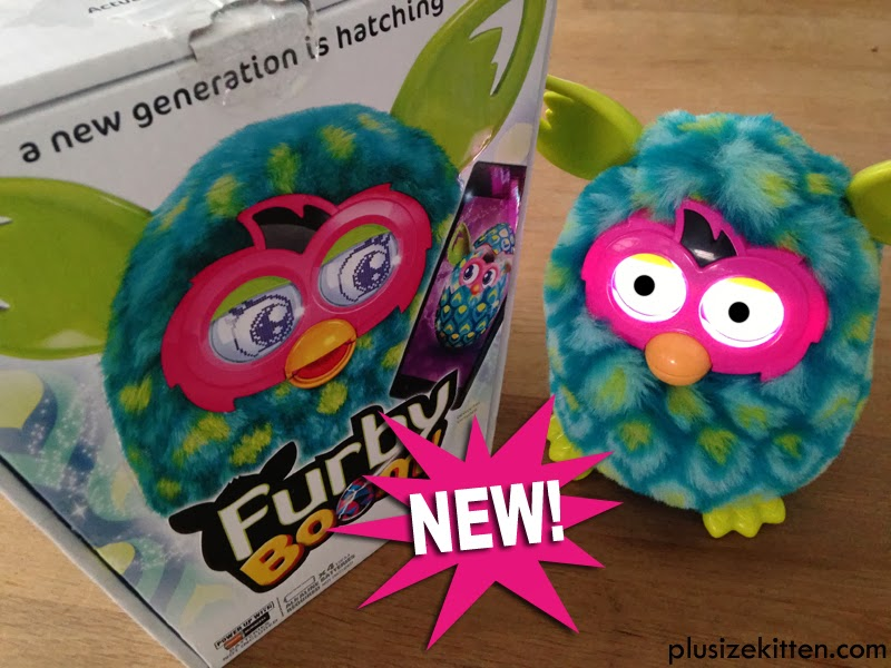 the new Furby Boom tod...