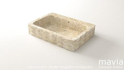 Arredamento di interni arredamento bagno lavabo in for Arredo bagno 3d
