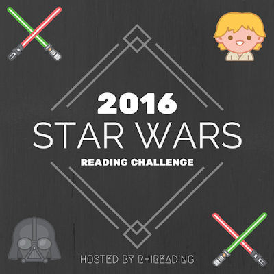 2016 Star Wars Reading Challenge hosted by RhiReading