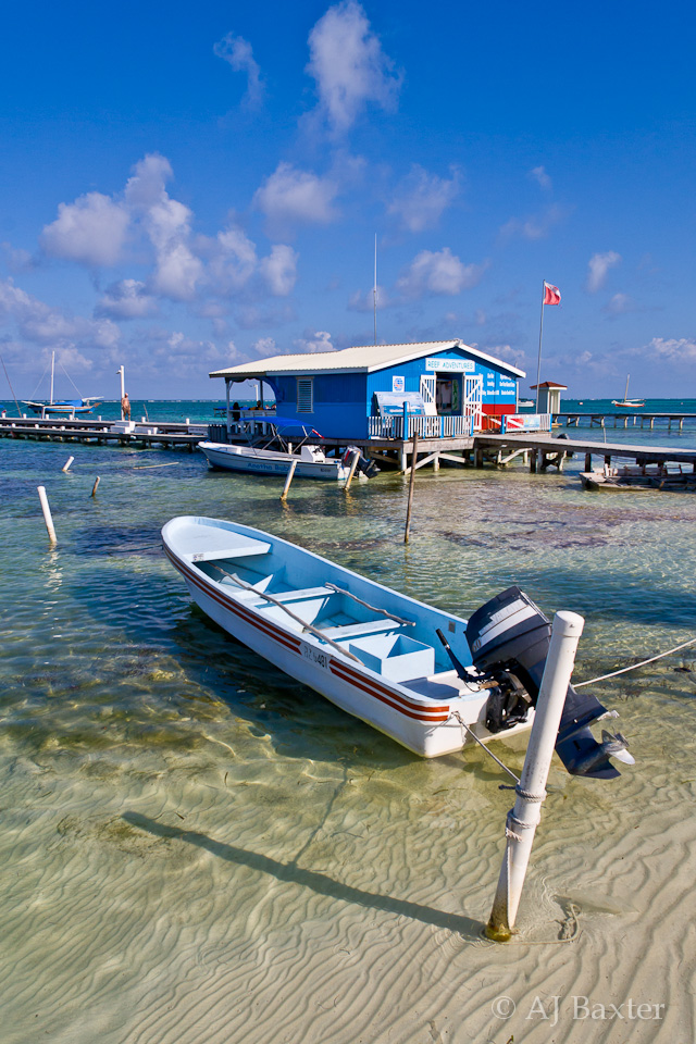 San Pedro Waterfront, Ambergris Caye, Belize