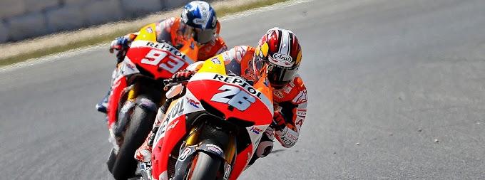 MotoGP Catalunya 2013, Jorge Lorenzo Finis Terdepan