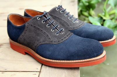 Model Sepatu Keren Casual Oxford Untuk Anak Kampus
