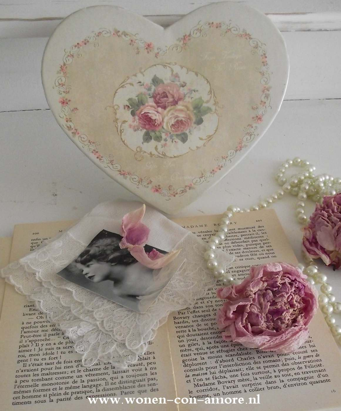 Shabby Chic Badezimmer Accessoires : Shabby chic con amore casa on ...