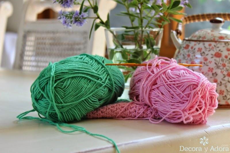 decora y adora: toma olla a crochet
