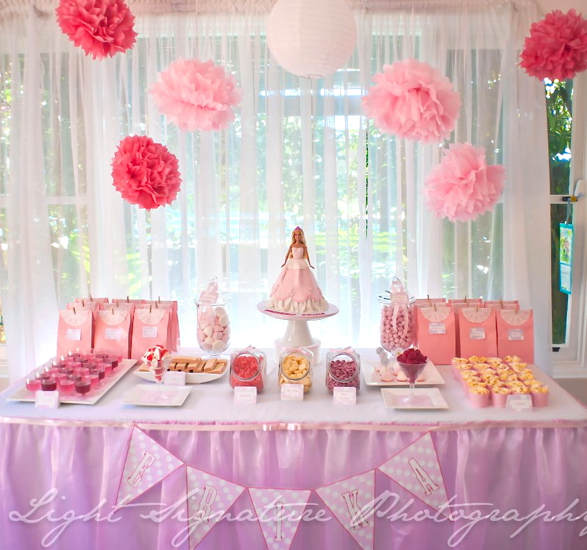 Lyn's Cake Art: Pink Princess Dessert Table